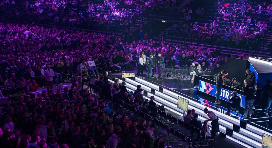 Counter-Strike turneringen Blast Pro Series løb af stablen i Royal Arena i København. (Foto:Martin Sylvest/Scanpix 2017)