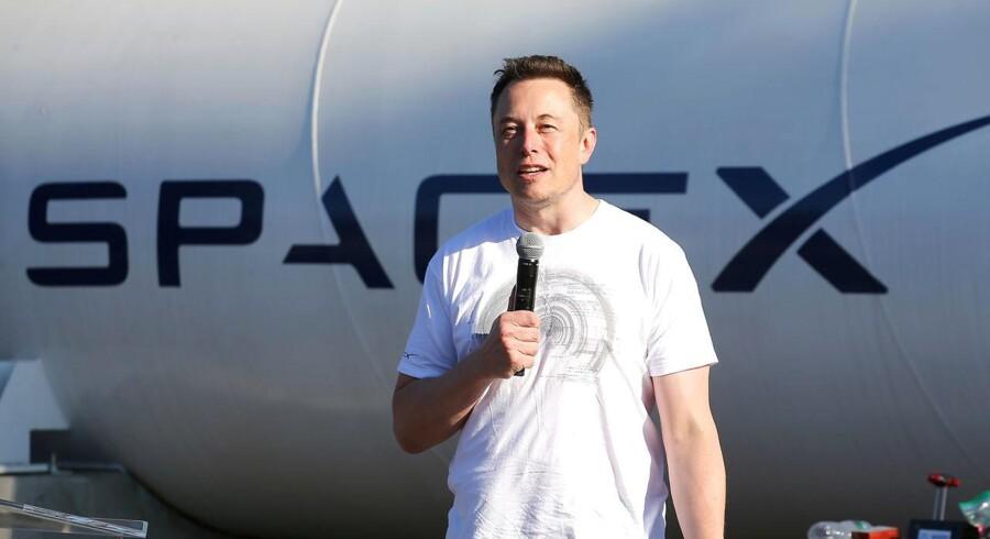 Elon Musk grundlagde raketselskabet SpaceX i 2002.