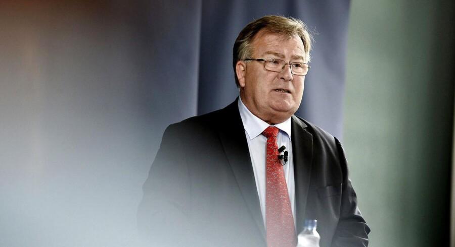 Finansminister Claus Hjort Frederiksen (V) fremlægger regeringens forslag til finanslov.