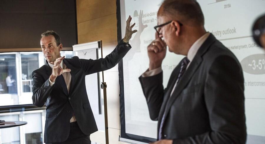 ARKIVFOTO. NKT Holding, der blandt andet ejer Nilfisk, lever op til forventningerne i regnskabet for tredje kvartal. (se diverse Ritzau historier) NKT-opslitning. Tilstede ved pressemødet vil være NKT Holdings bestyrelsesformand Jens Due Olsen og NKT Cables President & CEO Michael Hedegaard Lyng.. (Foto: Søren Bidstrup/Scanpix 2016)