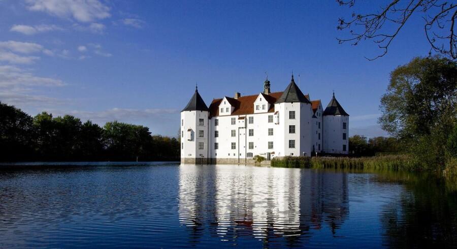 Glücksburg Slot ved Flensborg.