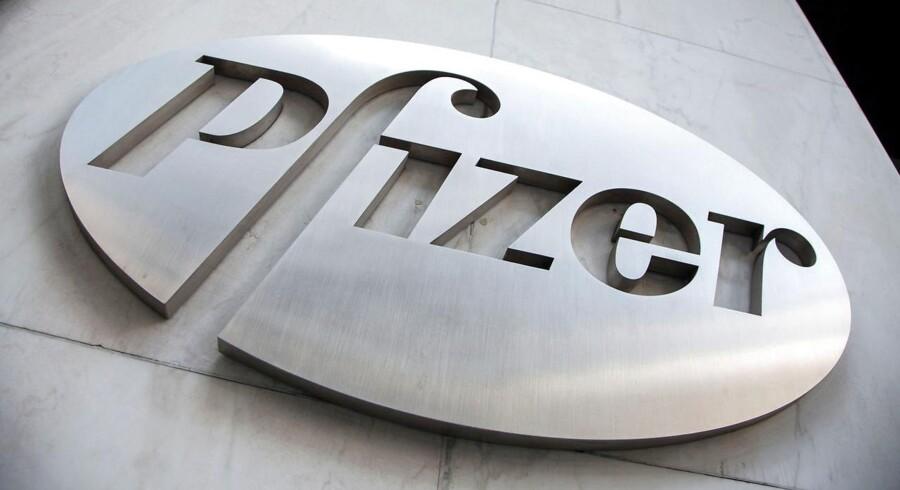 Pfizer overstiger økonomernes forventninger for første kvartal.