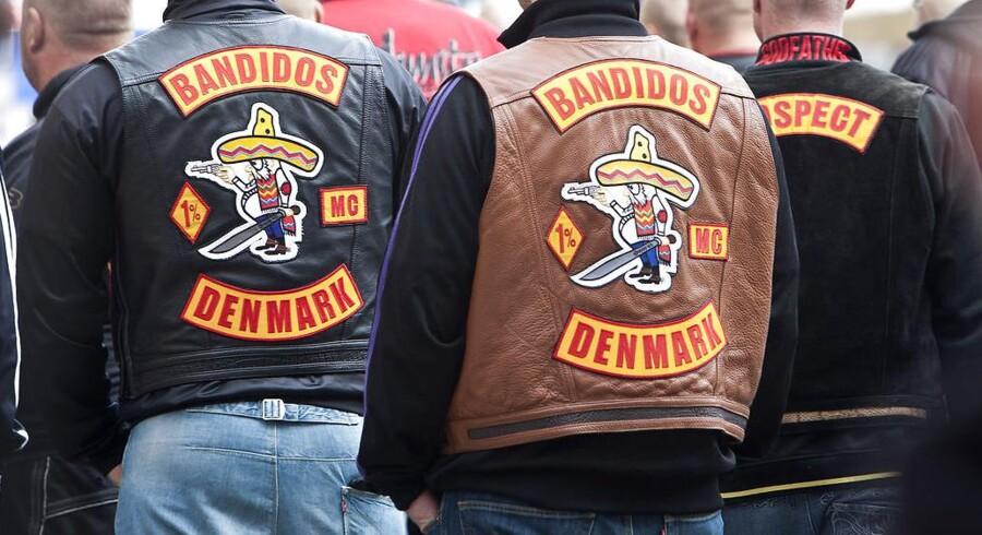 Arkivfoto: Konflikt mellem rockergrupperne Satudarah og Bandidos er kølnet så meget, at forbud mod ophold i huse ophæves.