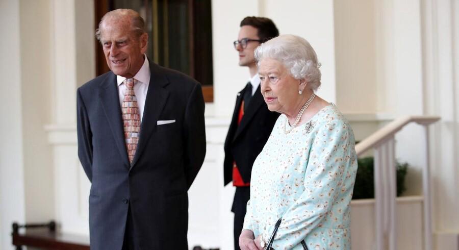 Det britiske kongehus atter ramt af pension. REUTERS/Chris Jackson/Pool