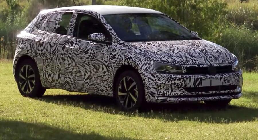 Den nye Volkswagen Polo bliver meget bredere til gavn for pladsforhold og køreegenskaber