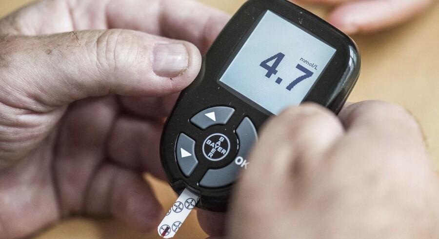 Arkivfoto:Svingende blodsukker kan øge risikoen for hjertekarsygdom hos diabetespatienter, indikerer rotteforsøg.