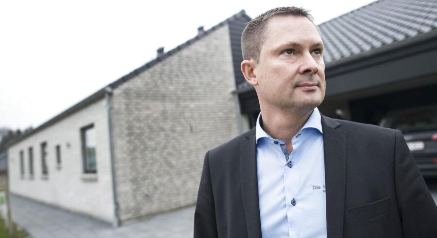 »Lige nu arbejder vi på at fordoble mængden af byggede huse i Tyskland hvert år, men det bliver selvfølgelig sværere og sværere, jo større vi bliver,« siger Søren Haugaard, adm. direktør, Die Hauscompagnie.