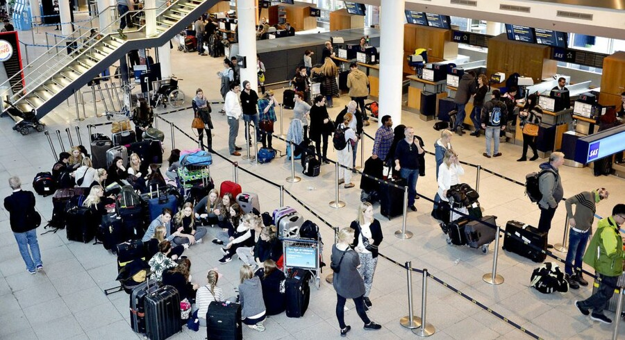 Arkivfoto. Undgå svedetur og kom stressfri gennem lufthavnen (Foto: Simon Skipper/Scanpix 2015)