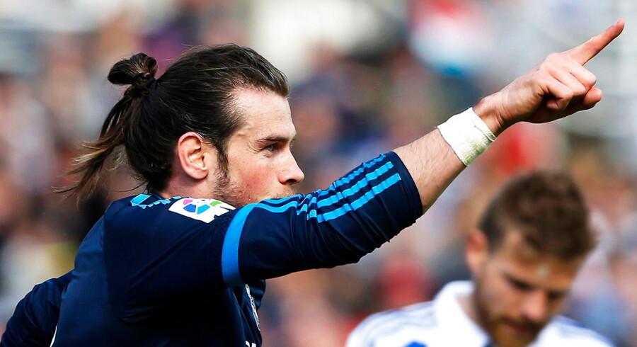 En scoring ti minutter før tid af Gareth Bale gav udeholdet sejren på 1-0.