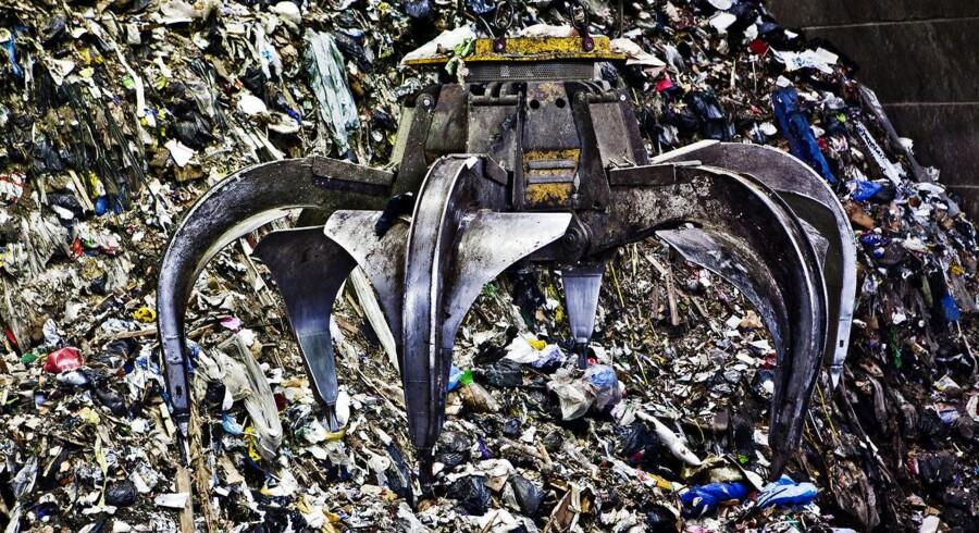 I 2015 indsamlede kommunerne i gennemsnit 789 kg affald per person.