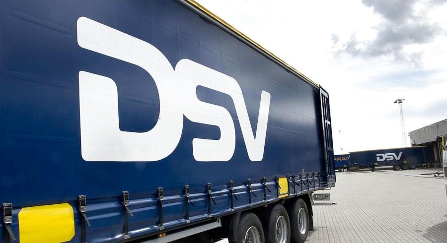 ARKIVFOTO. Transportselskabet DSV har klaret sig bedre end ventet i første kvartal, viser netop offentliggjort regnskab.