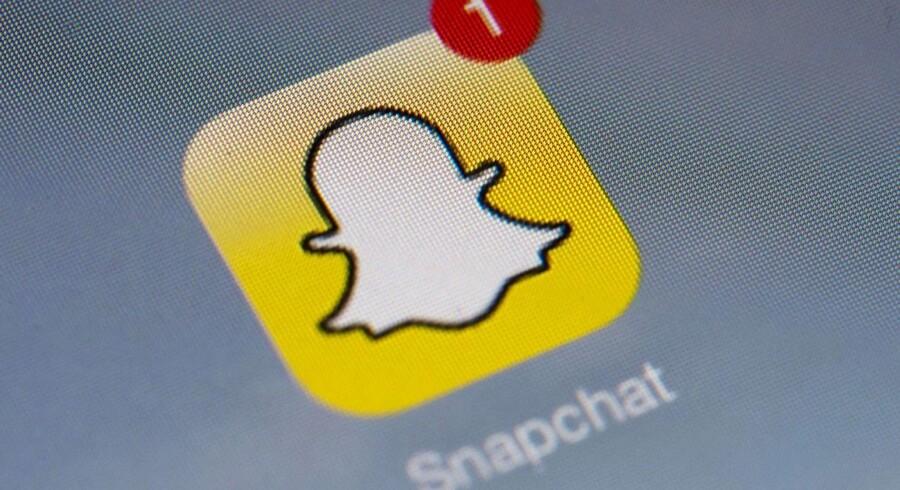 ARKIVFOTO: Snapchat Logo