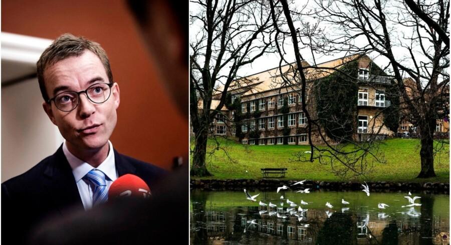 Eksperter og fagfolk kræver, at staten dropper at sende universiteternes rådgivningsopgaver i udbud. Esben Lunde afviser kravet.
