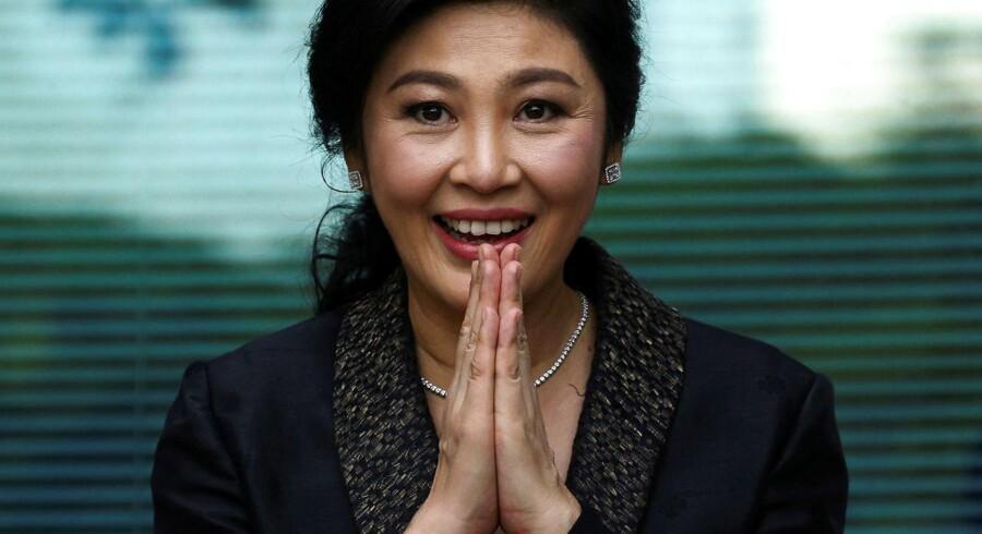 Noget tyder på, at den tidligere thailandske premierminister, Yingluck Shinawatra, er flygtet ud af landet.