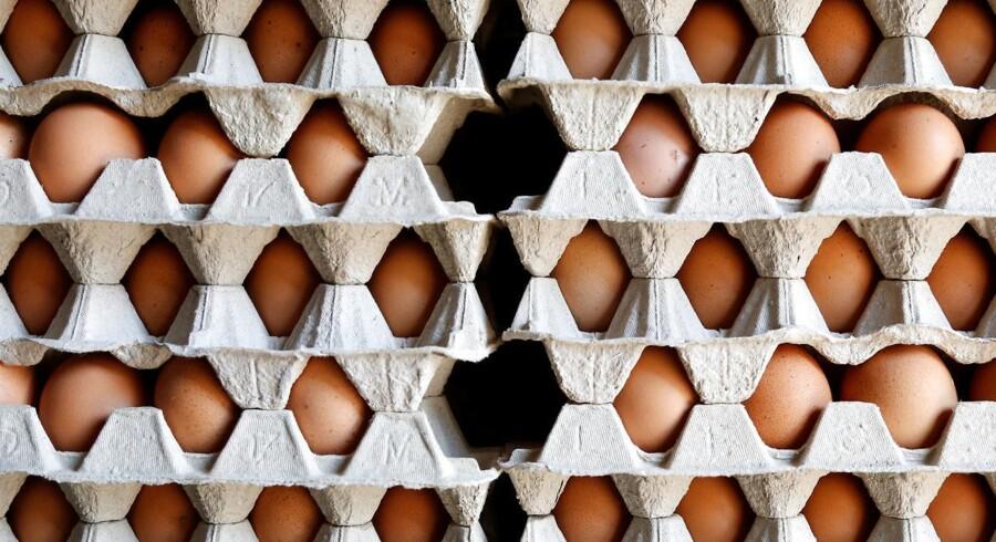 Æg med indhold af insektmidlet fipronil har været forhandlet i tre danske butikker, oplyser Fødevarestyrelsen.