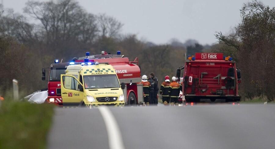 Arkivfoto. En 18-årig mand blev kvæstet så hårdt i sammenstød med varevogn, at hans liv ikke kunne reddes. (Foto: Claus Fisker/Scanpix 2016)