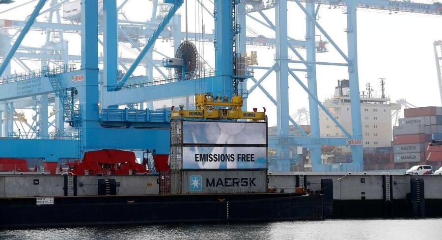 Arkivfoto. APM Terminals sælger sin andel af havnen i Zeebrügge i Belgien.