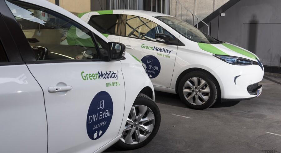 GreenMobility stiller 400 eldrevne biler til rådighed i Storkøbenhavn. På sigt skal konceptet udbredes til mange andre europæiske storbyer, siger storaktionæren Henrik Isaksen. Foto: Mads Joakim Rimer Rasmussen