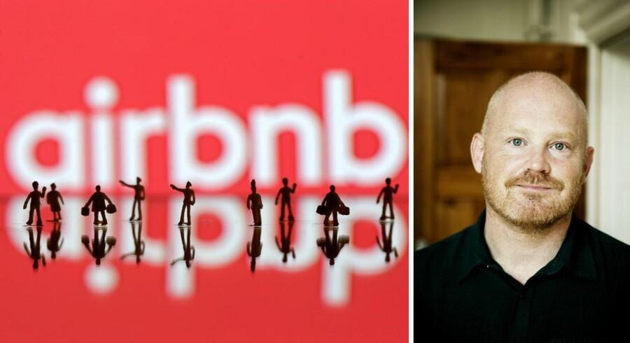 Teknik- og miljøborgmester Morten Kabell (Ø) er glad for deleøkonomi, men han har et problem.