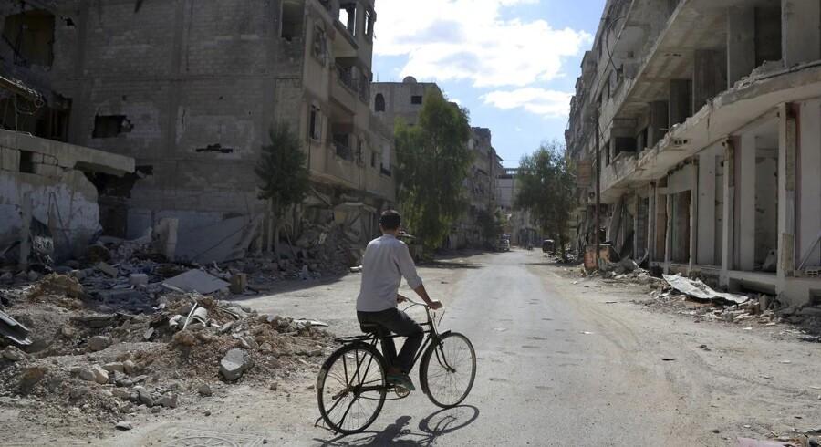 Arkivfoto: Damaskus.