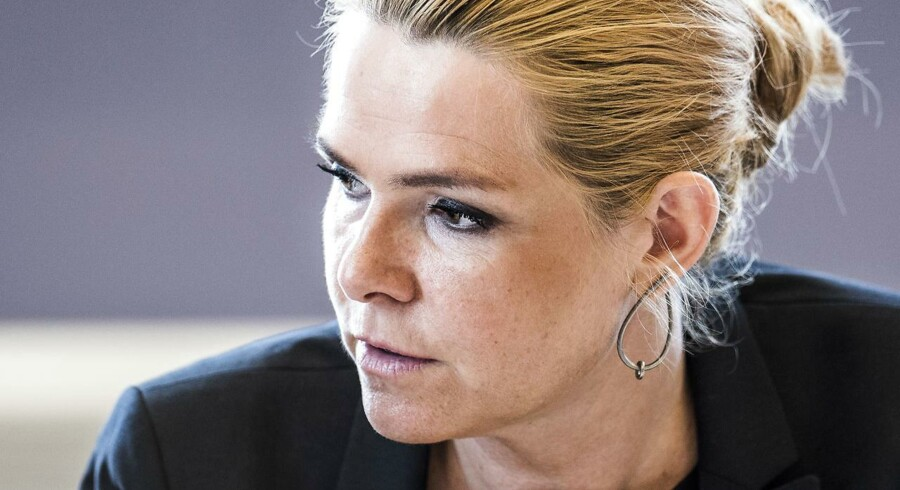 Udlændinge- og integrationsminister Inger Støjberg er blevet kritiseret for hendes forslag, om at muslimer skal holde ferie under ramadanen.(Foto: Ida Marie Odgaard/Ritzau Scanpix)