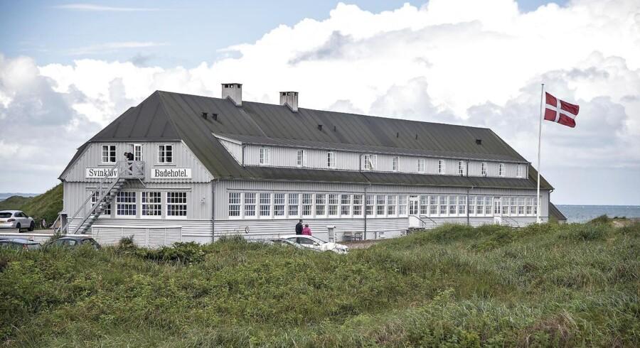 Billede af Svinkløv Badehotel, før det brændte ned i 2016.