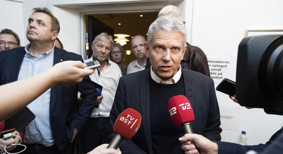 Truels Schultz (K) overtog i 2004 borgmesterkæden halvvejs. Han fraråder en lignende løsning i Slagelse. (Foto: Claus Bech/Scanpix 2017)