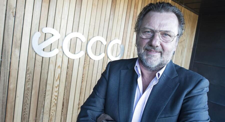 Selvom Ecco rykker to pladser ned ad listen, kan direktør Dieter Kasprzak fortsat se koncernen blandt top-10. (Foto: Claus Fisker/Scanpix 2015)