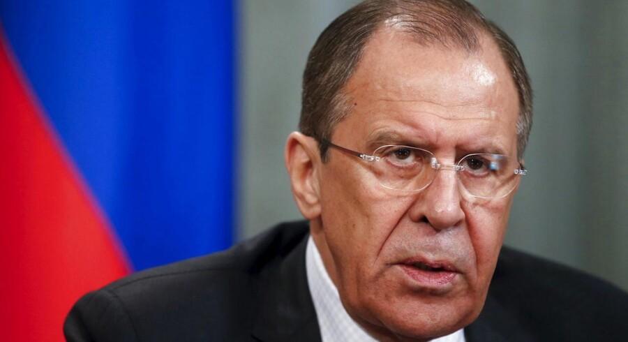 Mindre end en time efter Vestagers pressemøde kaldte den russiske udenrigsminister, Sergej Lavrov, EUs sag for »absolut uacceptabel«.