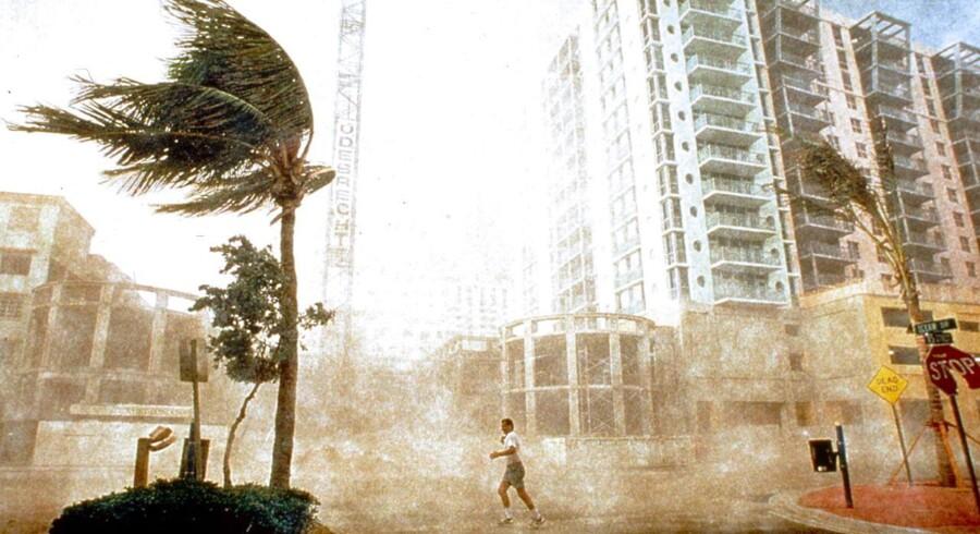 "Cyklonen ""George"" i Florida i 1998."