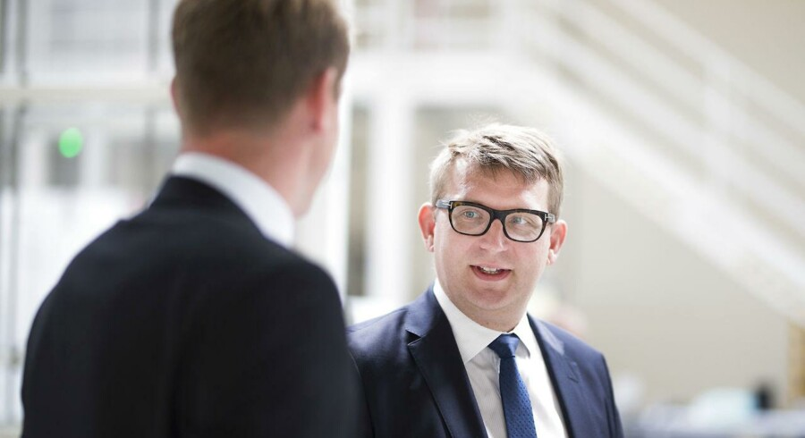 Arkivfoto: Lønmodtagerne skal uddanne sig gennem hele livet, mener beskæftigelsesminister Troels Lund Poulsen (V).