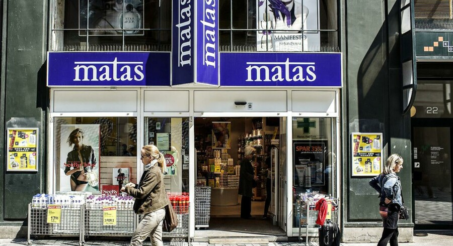 Matas' nedjustering er ikke blot en skuffelse, når det kommer til dette års resultater, men giver også anledning til at sætte spørgsmålstegn ved udsigterne på den lidt længere bane, vurderer Jyske Bank. (Foto: Jeppe Bjørn Vejlø/Scanpix 2013)