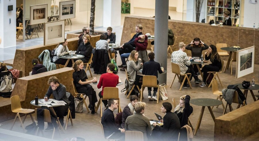 De humaniorastuderende på ikke mindst kandidatdelen på Københavns Universitet bruger mange timer på selvstudie frem for undervisning.
