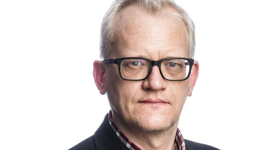Journalist Kristian Lindberg.