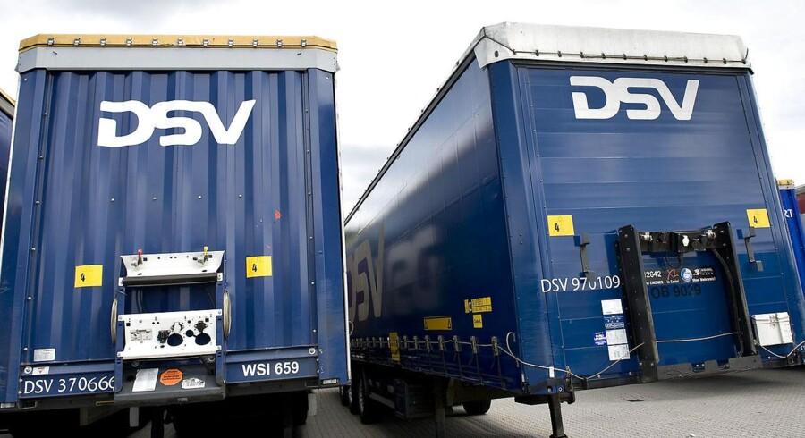 Der er blus på kedlerne hos DSV efter et opløftende årsregnskab.