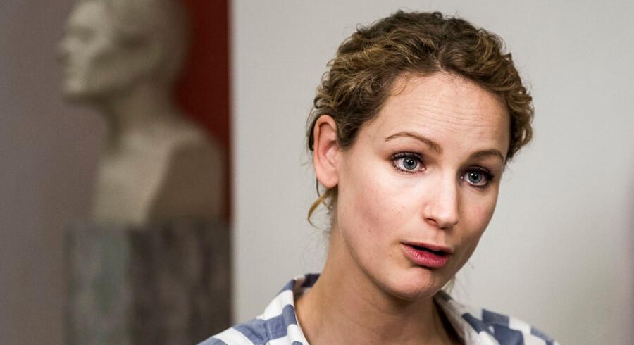 Politisk ordfører for Enhedslisten, Pernille Skipper. (Foto: Ólafur Steinar Gestsson/Scanpix 2017)