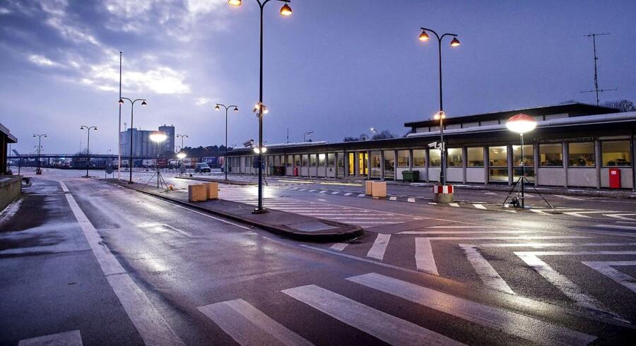 Færre indvandrere har krydset den danske grænse.