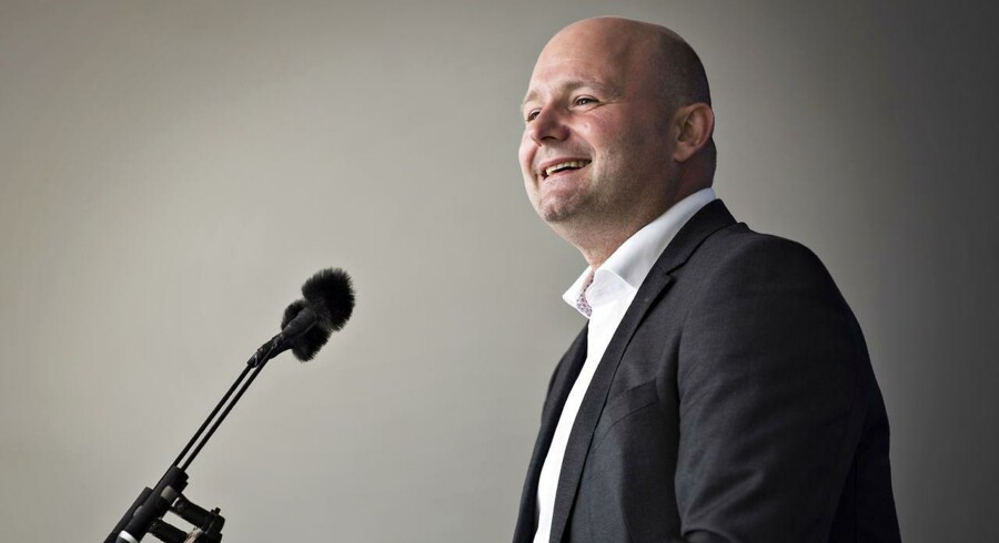 Folkemødet 2017. Partileder for de konservative Søren Pape Poulsen.