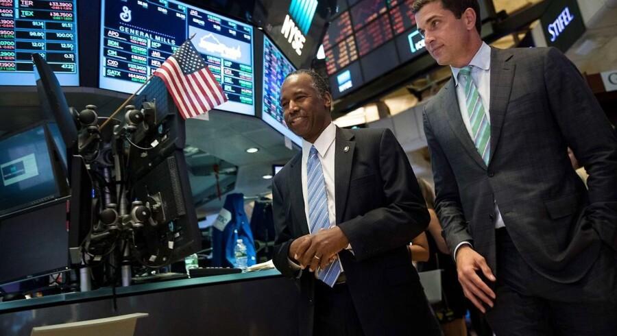 Arkivfoto. USA's centralbank hæver renten til 1,25 procent onsdag aften.