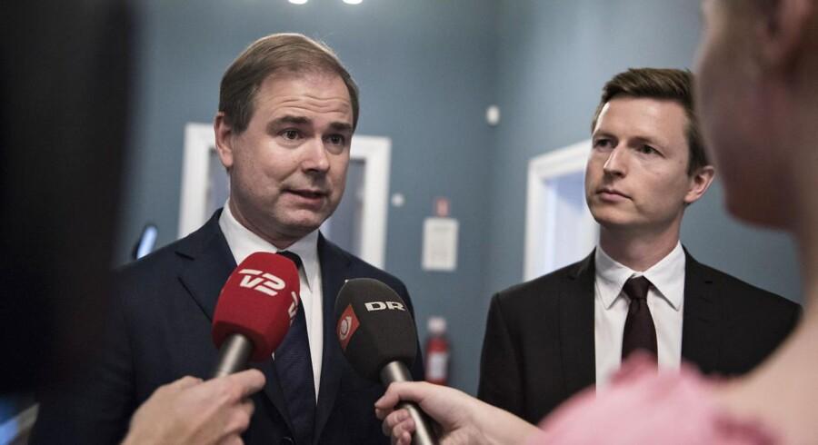 Socialdemokratiets politiske ordfører, Nicolai Wammen.