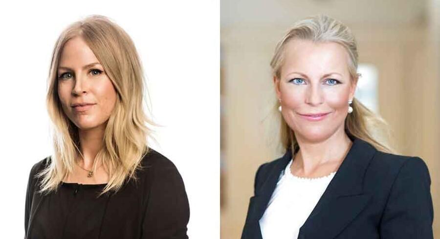 Eva Agnete Selsing og Eva Persson.