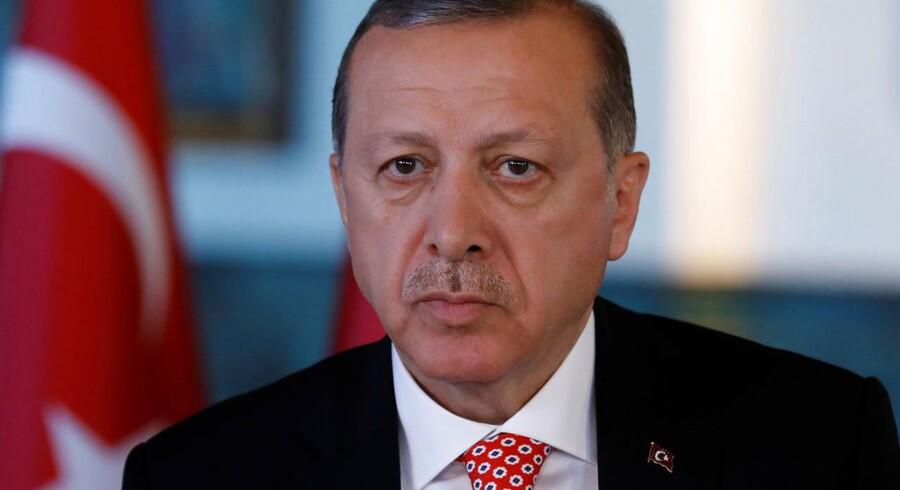 Arkivfoto. Over 800 er anholdt i Tyrkiet for at være en del af Gülen-bevægelsen, som Erdogan mener konspirerer mod ham.