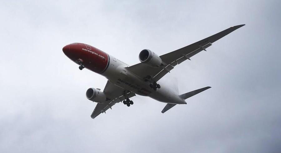 Et Dreamliner-fly fra Norwegian