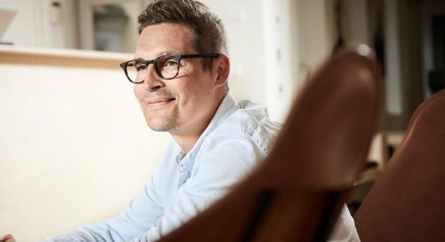 Søren Møller, der er direktør og grundlægger af den danske brillekæde CrossEyes.