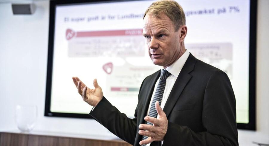 Royal Unibrews topchef, Jesper Bo Jørgensen, passede ikke ind i kulturen hos det danske bryggeri, fortæller selskabets bestyrelsesformand, Kåre Schultz.