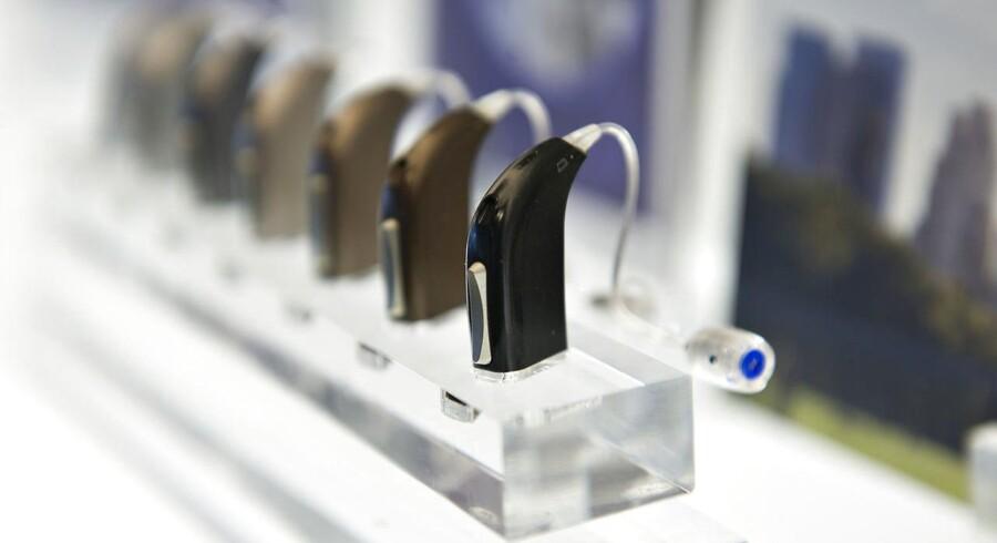 William Demants hovedsæde. Her høreapparater fra Oticon.