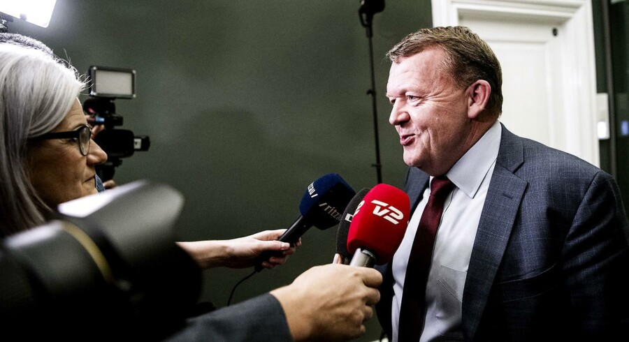 (ARKIV) Statsminister Lars Løkke Rasmussen (V) indkaldte DF til et møde onsdag aften d. 6. december 2017 om, hvordan forhandlingerne om en skattereform og finansloven skal fortsætte. Politikerne kan ikke bestemme, om der er fred i Syrien, så flygtninge kan sendes hjem. Det er op til Udlændingestyrelsen og Flygtningenævnet. Det skriver Ritzau, fredag den 8. december 2017.. (Foto: Bax Lindhardt/Scanpix 2017)