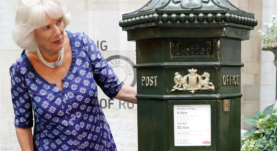 Man skal kikke langt efter sin Galaxy Note 7-telefon i Storbritannien, for den kommer ikke ud med posten. Foto: Chris Jackson, AFP/Scanpix