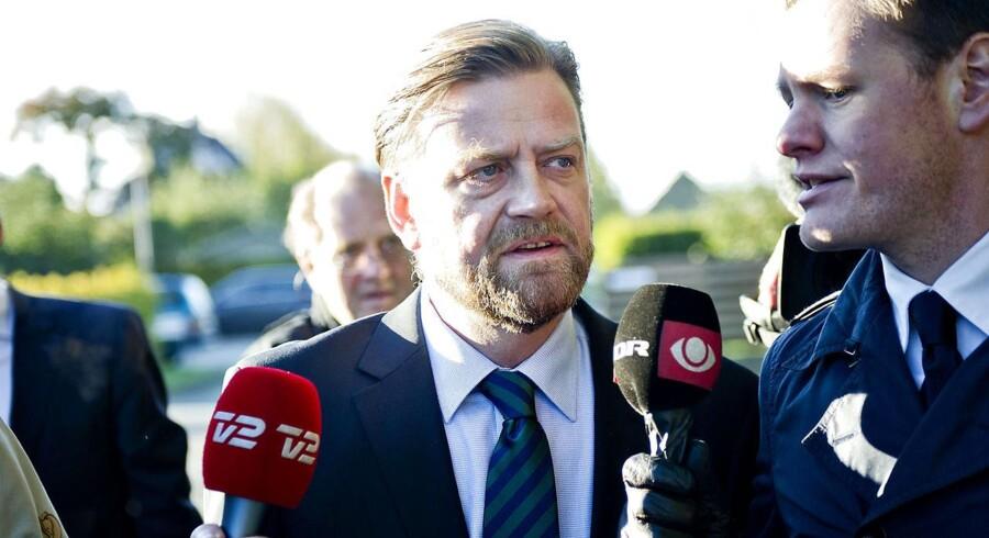 Arkivfoto. Tidligere spindoktor for Troels Lund Poulsen, Peter Arnfeldt. (Foto: Torkil Adsersen/Scanpix 2012).