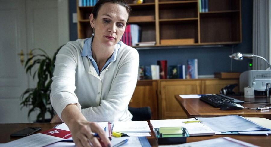»Jeg håber, at flere eliteidrætsudøvere oplever, at de kan tage den uddannelse, de drømmer om, mens de er på højt niveau,« siger undervisningsminister Merete Riisager (LA).